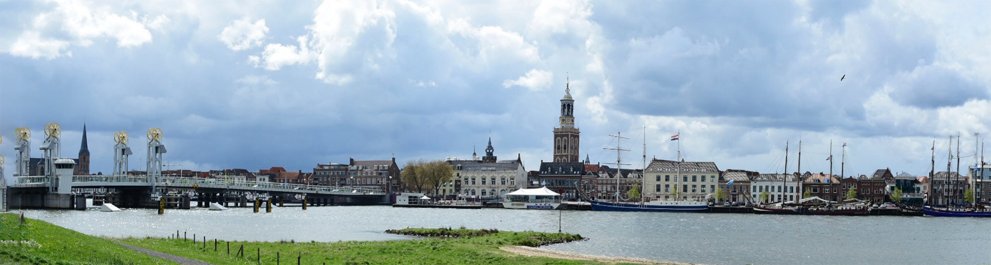 Stadsgezicht Kampen